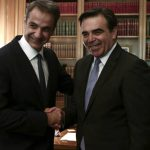 Συνάντηση Μητσοτάκη -Σχοινά για ευρωπαϊκή πολιτική στο προσφυγικό – μεταναστευτικό
