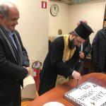 Ο Δήμαρχος Διονύσου Γ. Καλαφατέλης στην πίτα των Δημοτικών Κοινοτήτων Διονύσου και Κρυονερίου