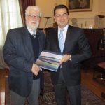 Συνάντηση του Δημάρχου Ιωαννίνων με τον Υφυπουργό Αγροτικής Ανάπτυξης