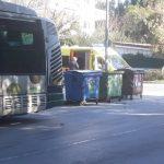 Σύγκρουση αυτοκινήτου και λεωφορείου με τραυματισμό, Αναλήψεως και Μακεδονίας στα Βριλήσσια