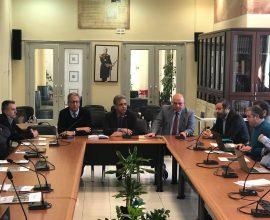 Παρουσίαση του προγράμματος «MUSICA» στον Δήμαρχο Χίου Στ. Κάρμαντζη και Δήμαρχο Οινουσσών Γ. Δανιήλ