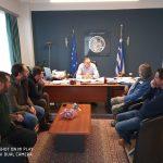 Στο πλευρό της πυρόπληκτης οικογένειας στη Λυγαριά Τυρνάβου ο Δήμος