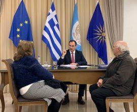 Δήμος Σερρών: Ο Αλέξανδρος Χρυσάφης συνεχίζει τις συναντήσεις του με τους Σερραίους δημότες