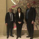 Συνάντηση του Δήμαρχου Μαραθώνος με ομογενείς πολιτικούς από τον Καναδά
