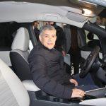 Το πρώτο ηλεκτρικό αυτοκίνητο παρέλαβε η Περιφέρεια Θεσσαλίας