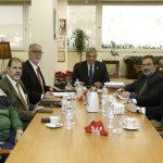 Συνάντηση του Περιφερειάρχη Αττικής με το Προεδρείο της Πανελλήνιας Ομοσπονδίας Εκπαιδευτών Οδήγησης