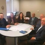 Σε Πράσινο Ταμείο και Περιφέρεια Αττικής για χωροταξικά θέματα ο Δήμαρχος Μαραθώνος