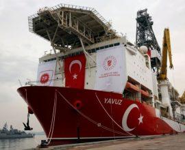 Γιαβούζ: Το ψευδοκράτος έδωσε την άδεια λέει η Τουρκία για γεώτρηση