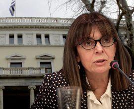 Πρόεδρος Δημοκρατίας με 261 ψήφους η Αικατερίνη Σακελλαροπούλου