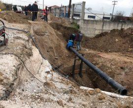 Δήμος Δέλτα: Αντικαθίσταται ο κεντρικός αγωγός ύδρευσης σε Διαβατά και N. Μαγνησία