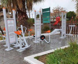 Δήμος Θηβαίων: Νέα Υπαίθρια γυμναστήρια σε Ξηρονομή και Δομβραίνα