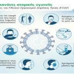 Δήμος Χαλανδρίου: Οδηγίες για την πρόληψη διασποράς του κορονοϊού