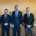 Συνάντηση εργασίας του Δημάρχου Θεσσαλονίκης Κ. Ζέρβα με τον Υφυπουργό, αρμόδιο για θέματα μεταφορών, Γ. Κεφαλογιάννη