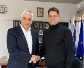 Συνάντηση του ΓΓ της ΚΕΔΕ με τον Δήμαρχο Μεσσήνης