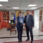 Συνάντηση Δημάρχου Παλαιού Φαλήρου με τον Πρέσβη της Γαλλικής Δημοκρατίας