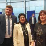 Συναντήσεις της Ρόδης Κράτσα – Τσαγκαροπούλου και του Μανώλη Ορφανουδάκη με Ευρωπαίους αξιωματούχους στις Βρυξέλλες