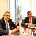 Συνάντηση του Περιφερειάρχη Γ. Χατζημάρκου με τον Υφυπ. Ανάπτυξης & Επενδύσεων Γ. Τσακίρη