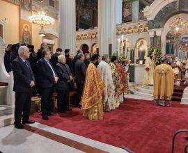 Ευχές Περιφερειάρχη Κρήτης για τα 45 χρόνια Αρχιερατικής Διακονίας του Αρχιεπισκόπου Κρήτης Ειρηναίου