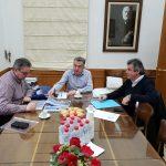 Συνάντηση Περιφερειάρχη Κρήτης με τον Δήμαρχο Αγ. Βασιλείου