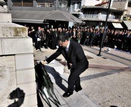 Ο Περιφερειάρχης Κεντρικής Μακεδονίας Απόστολος Τζιτζικώστας στις εκδηλώσεις για την απελευθέρωση της Νιγρίτας Σερρών