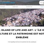 Ο Δήμος Κέας στο Παρίσι στην έκθεση Salon Mondial du Tourisme 2020