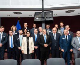 ΠΔΕ: Στις Βρυξέλλες με την αντιπροσωπεία των Ελληνικών Περιφερειών, ο Αντιπεριφερειάρχης Φωκίων Ζαΐμης