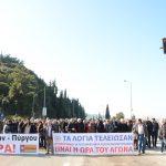 Ο Δήμαρχος Πατρέων, Κώστας Πελετίδης στην κινητοποίηση της 26ης Φλαβάρη για την Πατρών – Πύργου