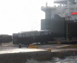 Η αποχώρηση των ΜΑΤ από Λέσβο και Χίο,μετά την οργή των κατοίκων