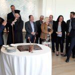 Οι εργαζόμενοι του Δήμου Γλυφάδας έκοψαν την πρωτοχρονιάτικη πίτα τους