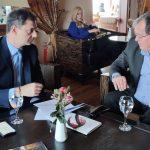 Συνάντηση Δημάρχου Λίμνης Πλαστήρα με Υπουργό Τουρισμού: Η τουριστική ανάπτυξη της λίμνης στο επίκεντρο της συζήτησης