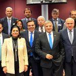 Στον Αντιπρόεδρο της Ευρωπαϊκής Επιτροπής Μ. Σχοινά η αντιπροσωπεία των Ελληνικών Περιφερειών με επικεφαλής τον Γ. Πατούλη