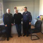 Συνάντηση του Δημάρχου με τον Αστυνομικό Διευθυντή Κορινθίας και τον Διοικητή Αστυνομικού Τμήματος Βέλου Βόχας