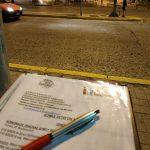 Βραδινό street work Κοινωνικών Λειτουργών του Δήμου Κηφισιάς
