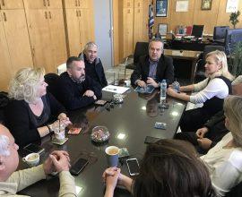 Δήμος Παπάγου-Χολαργού: Σύσκεψη της Εκτελεστικής Επιτροπής με θέμα την ενημέρωση των πολιτών για τον κορονοϊό