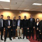 Συνάντηση του Δημάρχου Αίγινας Γ. Ζορμπά με τον Διοικητή της 2ης Υγειονομικής Περιφέρειας Πειραιώς και Νήσων