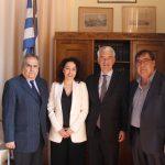 Δήμος Σύρου-Ερμούπολης: Συνάντηση του Αντιδημάρχου Μ. Αληφραγκή με τον Γερμανό Πρέσβη