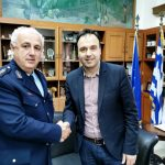 Στον Δήμαρχο Τρικκαίων ο νέος Αστυνομικός Διευθυντής Τρικάλων