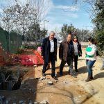 Αυτοψία από τον Δήμαρχο Αμαρουσίου Θ. Αμπατζόγλου σε εκτελούμενα έργα στις περιοχές Αγ. Θωμά, Εργατικών Κατοικιών, Κοκκινιάς και Νέου Αμαρουσίου