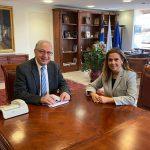 Συνάντηση του Δημάρχου Αμαρουσίου Θ. Αμπατζόγλου με την Βουλευτή Ζωή Ράπτη
