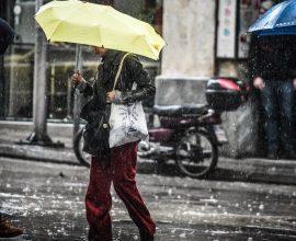 Επιδείνωση του καιρού την Πέμπτη (20/2) με βροχές και σποραδικές καταιγίδες
