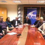 Συνάντηση του Σωματείου Εργαζομένων στα Κέντρα Πρόληψης των εξαρτήσεων και Προαγωγής της Ψυχοκοινωνικής Υγείας με την ΚΕΔΕ