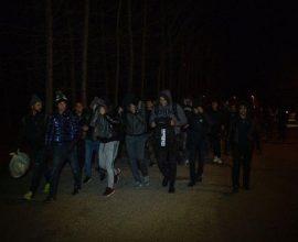 Ένταση στις Καστανιές: Ο τρομοκράτης Ερντογάν και η βιτρίνα του