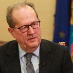 Συνάντηση του Περιφερειάρχη Π. Νίκα με στελέχη από την Ευρωπαϊκή Τράπεζα Ανασυγκρότησης και Ανάπτυξης