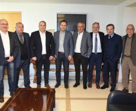 Συνάντηση του Προέδρου της ΚΕΔΕ, Δημήτρη Παπαστεργίου, με την Ένωση Δημάρχων Αττικής