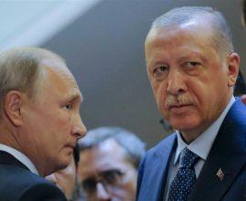 Επικοινωνία Πούτιν-Ερντογάν για τη Συρία – Τι ζήτησε ο Τούρκος πρόεδρος