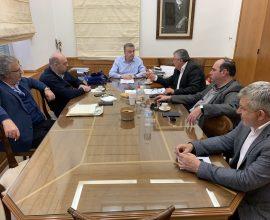 Τον Περιφερειάρχη Κρήτης επισκέφθηκε το νέο Διοικητικό Συμβούλιο του ΕΣΔΑΚ