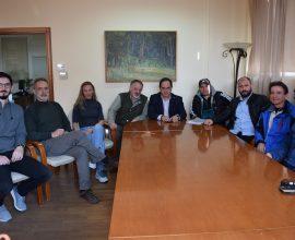 Συνάντηση του Δημάρχου Καρδίτσας κ. Β. Τσιάκου με τον πρόεδρο ΕΑΣ ΣΕΓΑΣ Θεσσαλίας