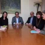 Συνάντηση στελεχών της Unicef με τον Δήμαρχο Καρδίτσας