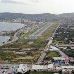 Συνάντηση Περιφερειάρχη Κ. Μουτζούρη και Δημάρχου Χίου Στ. Κάρμαντζη για την επέκταση του αεροδρομίου στο νησί