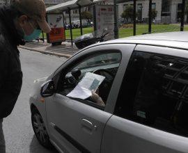 Κορονοϊός: 763 παραβάσεις για άσκοπες μετακινήσεις μέσα σε 6 ώρες την Τετάρτη